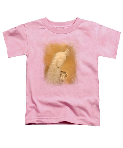 Elegance In Gold Toddler T-Shirt by Jai Johnson