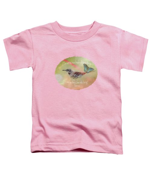 Elements Of Nature - Verse Toddler T-Shirt