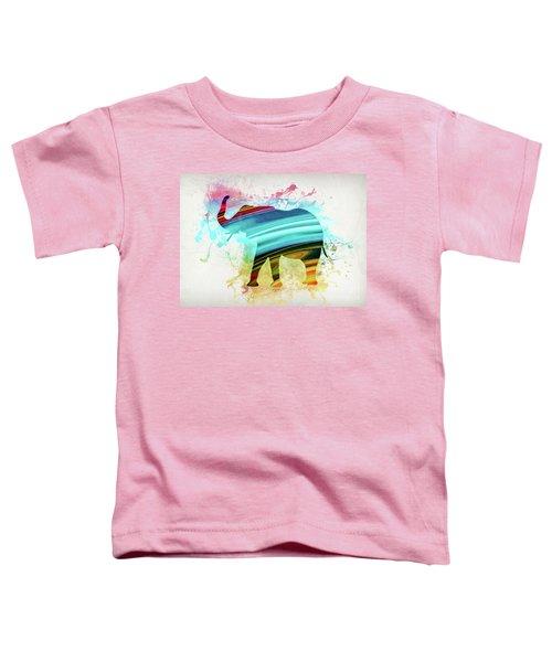Elephant Art Toddler T-Shirt