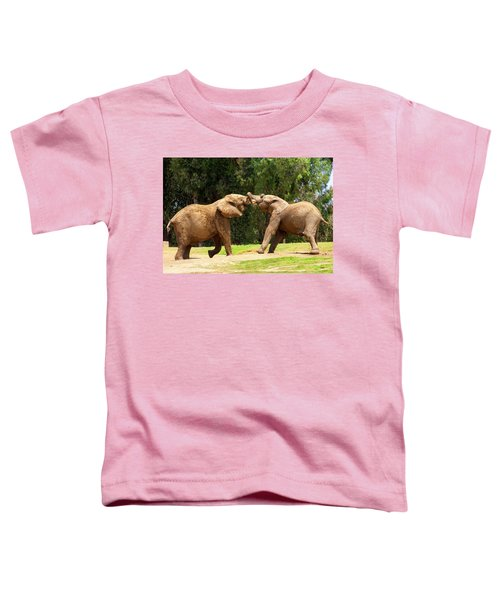 Elephants At Play 2 Toddler T-Shirt