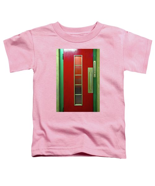 Elevator Door 	 Toddler T-Shirt by Ethna Gillespie