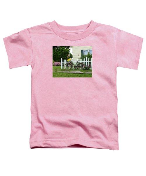 Elmer Bicycle Toddler T-Shirt