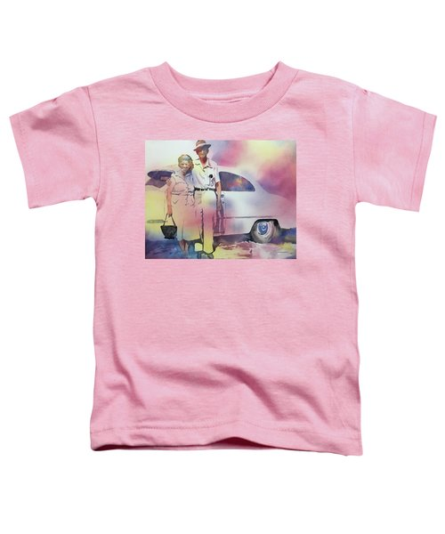 Elsie And Barney Shields Toddler T-Shirt