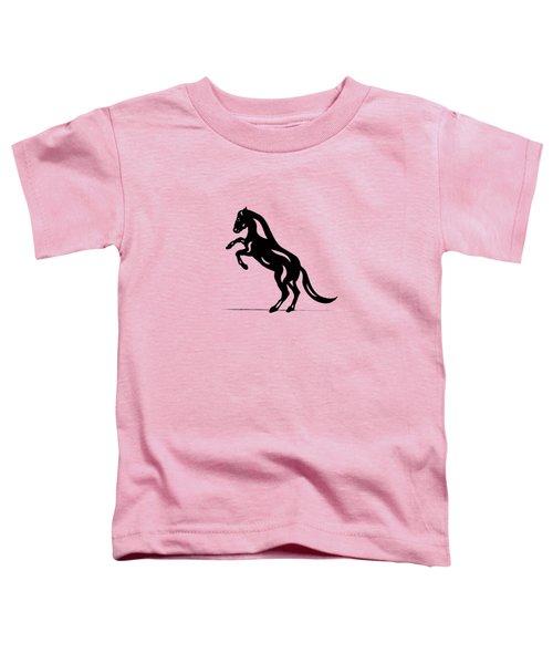 Emma - Abstract Horse Toddler T-Shirt