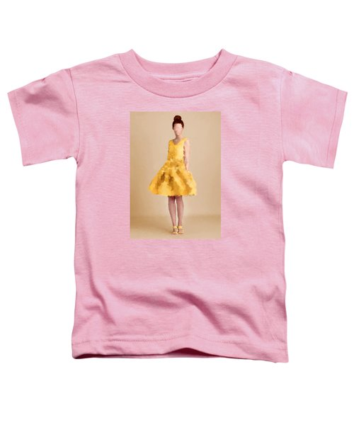 Toddler T-Shirt featuring the digital art Emma by Nancy Levan