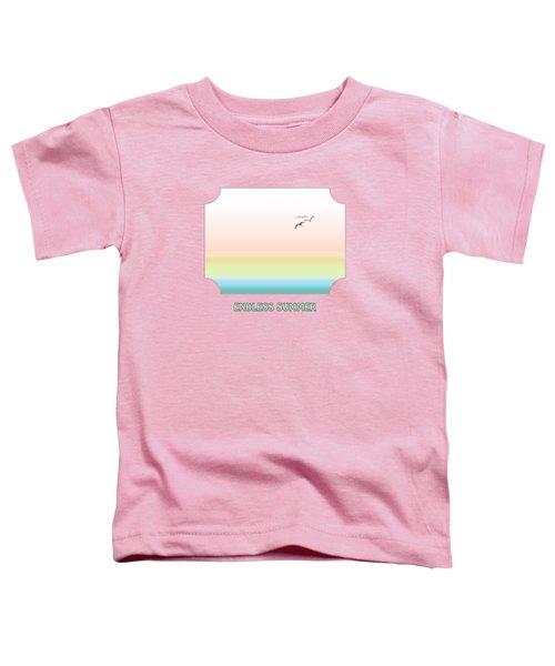 Endless Summer - Pink Toddler T-Shirt by Gill Billington