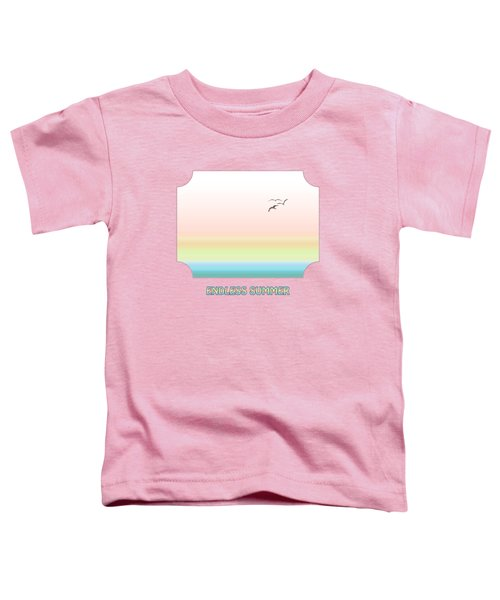 Endless Summer - Pink Toddler T-Shirt