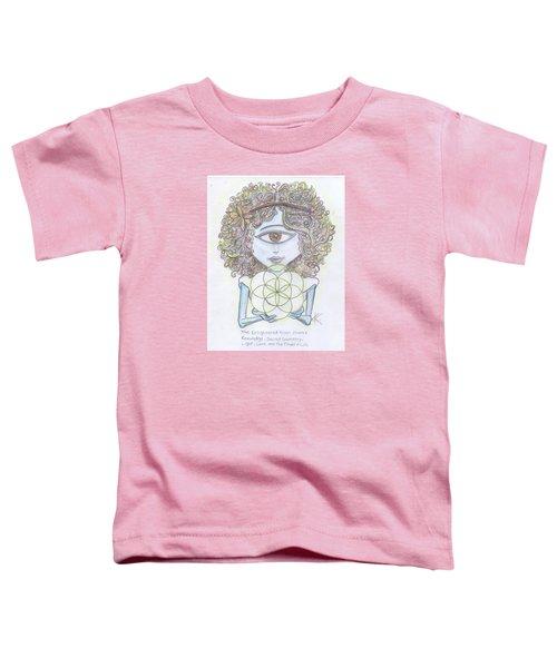 Enlightened Alien Toddler T-Shirt