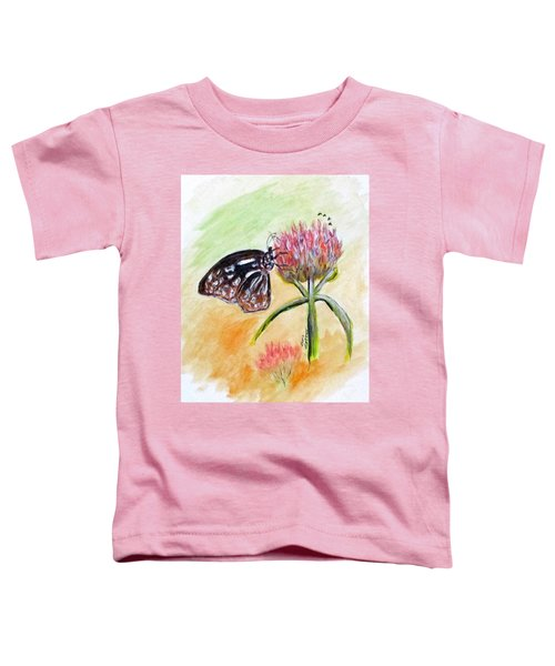 Erika's Butterfly Two Toddler T-Shirt