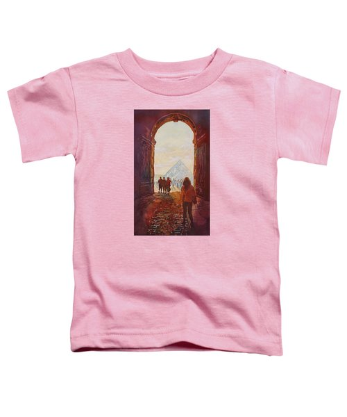 Evening At The Louvre Toddler T-Shirt by Jenny Armitage