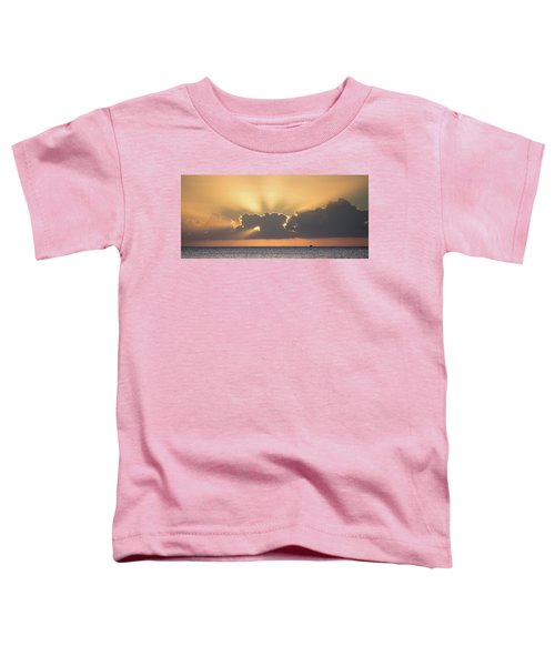 Evening Fishing Toddler T-Shirt