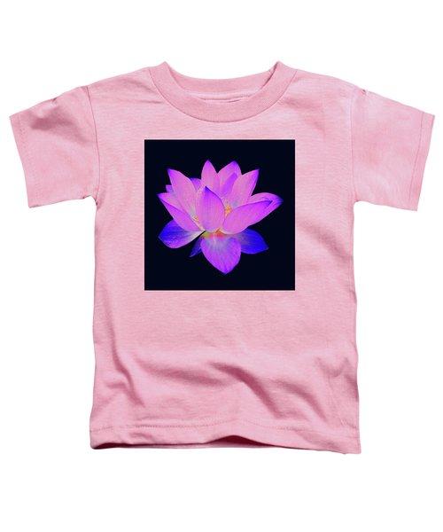 Evening Purple Lotus  Toddler T-Shirt