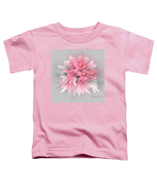 Toddler T-Shirt featuring the digital art Explosion by Gerry Morgan