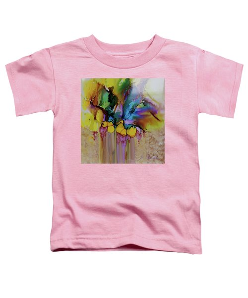 Explosion Of Petals Toddler T-Shirt