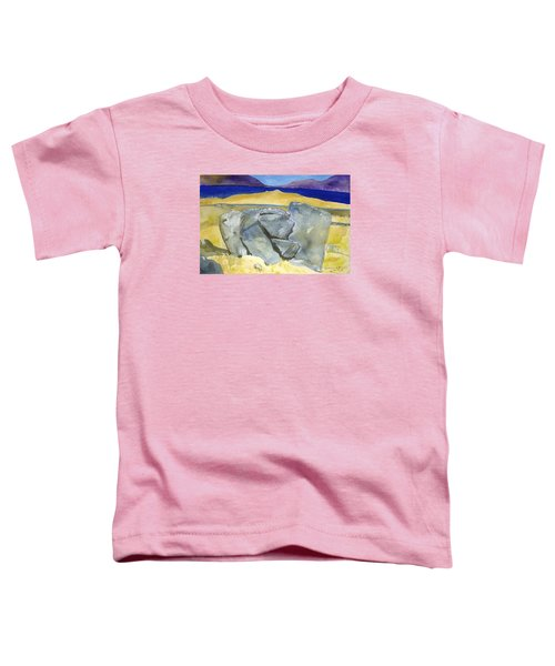 Faces Of The Rocks Toddler T-Shirt