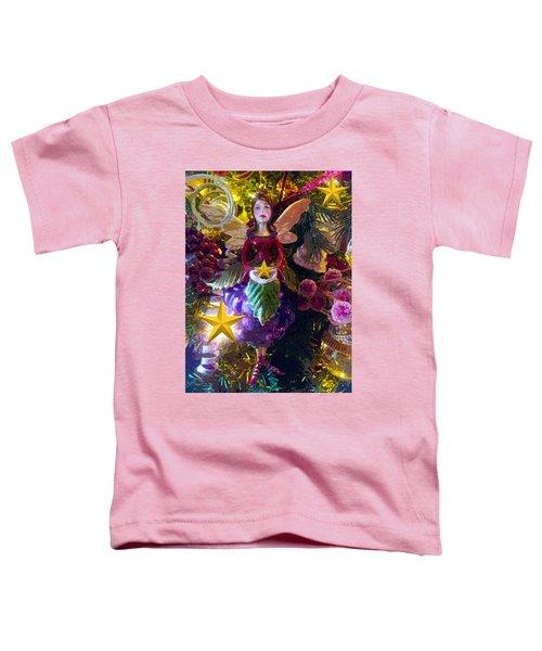 Fairy Dust Christmas Toddler T-Shirt