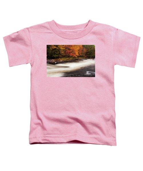 Fall At Oxtongue Rapids Toddler T-Shirt