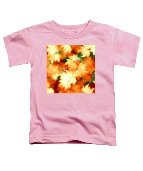 Toddler T-Shirt featuring the digital art Fall II by Gerry Morgan