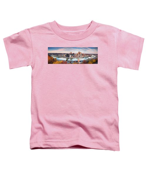 Fall In Pittsburgh  Toddler T-Shirt