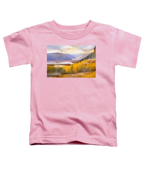 Fall In The Rockies Toddler T-Shirt