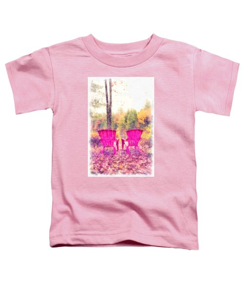 Fall On Anderson Pond Eastman Grantham New Hampshire Toddler T-Shirt