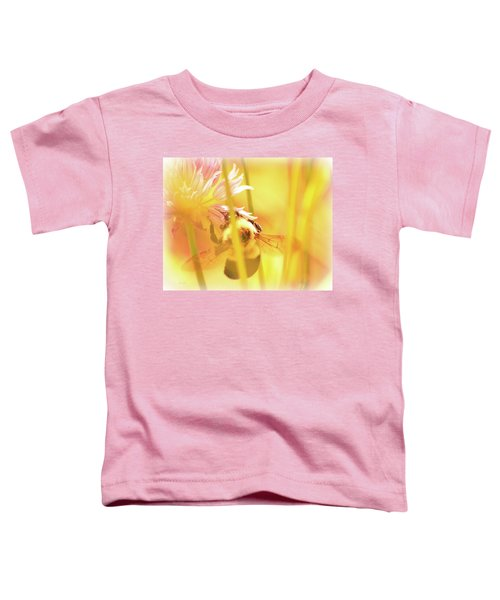 Fame Is A Bee Toddler T-Shirt by Bob Orsillo
