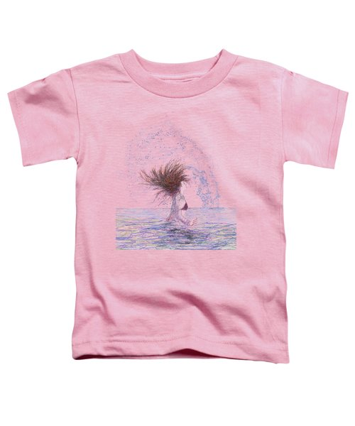 Feeling The Energy Of The Sea Sketch Toddler T-Shirt