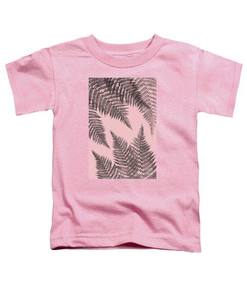 Ferns On Blush Toddler T-Shirt