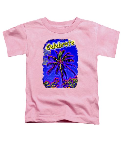 Festive Palm Toddler T-Shirt