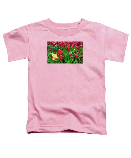 Tulip Garden Toddler T-Shirt