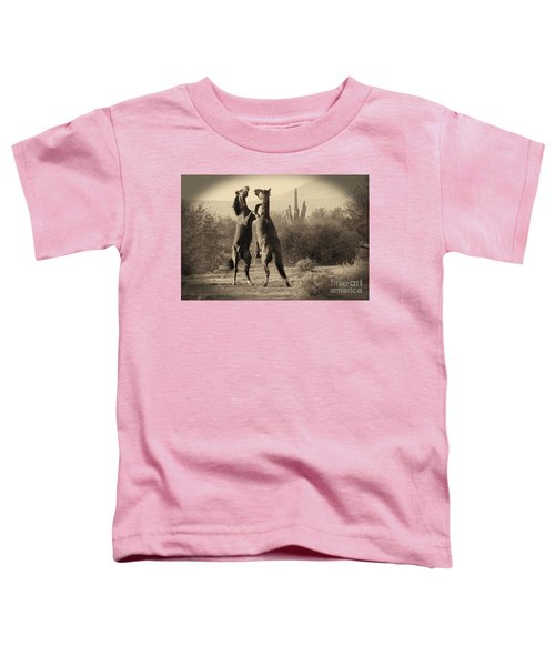 Fighting Stallions Toddler T-Shirt