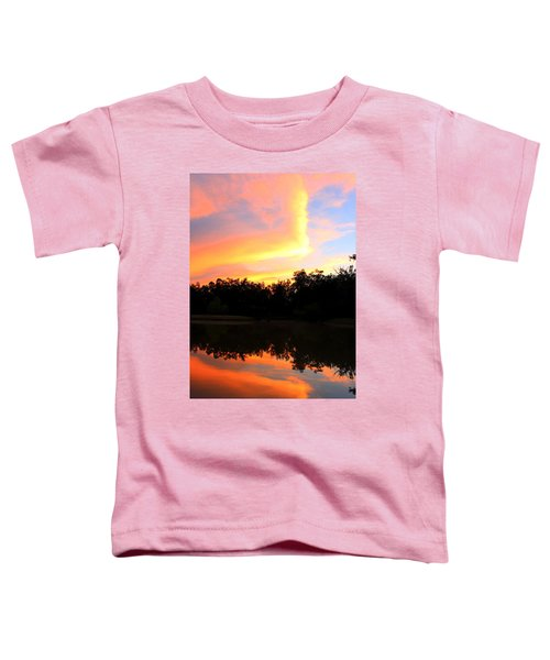 Fire On The Water Toddler T-Shirt