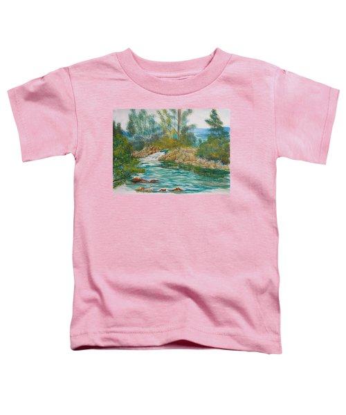 First Watercolour Toddler T-Shirt