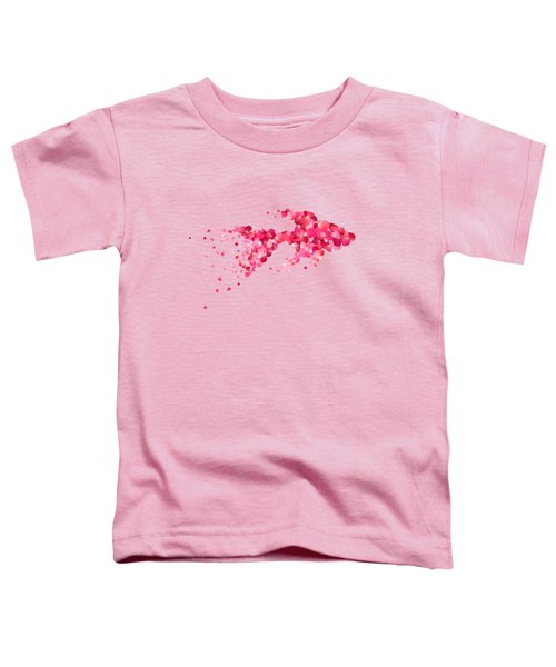 Fish Toddler T-Shirt by Aloke Creative Store