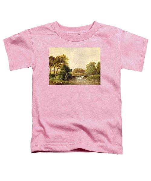 Fishing - Playing A Fish Toddler T-Shirt