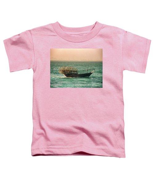Fishing Dhow Toddler T-Shirt