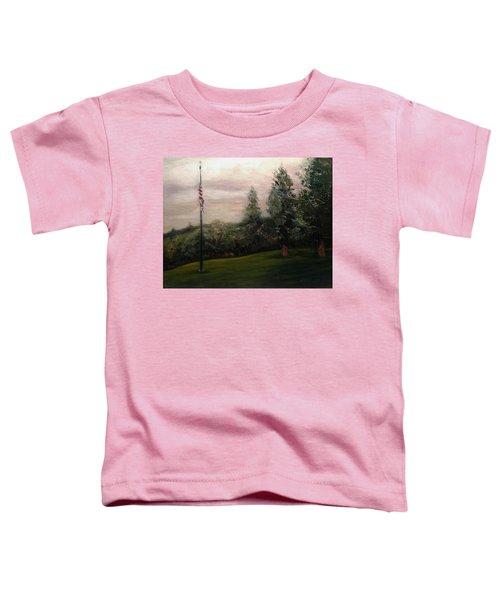 Flag Pole At Harborview Park Toddler T-Shirt