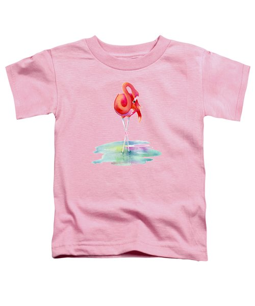 Flamingo Primp Toddler T-Shirt