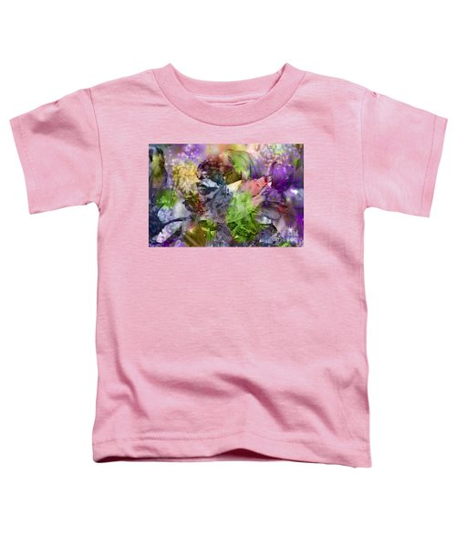 Floral Dream Of Oriental Beauty Toddler T-Shirt