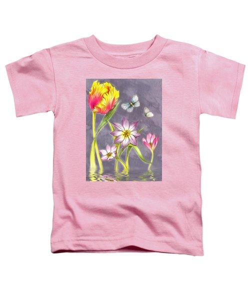 Floral Supreme Toddler T-Shirt