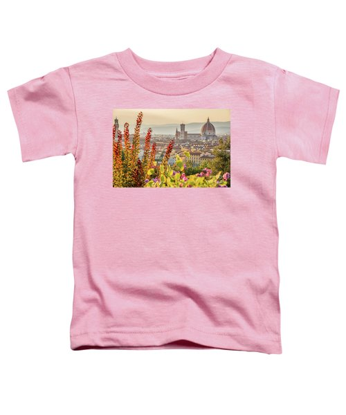 Florence In Summer Toddler T-Shirt