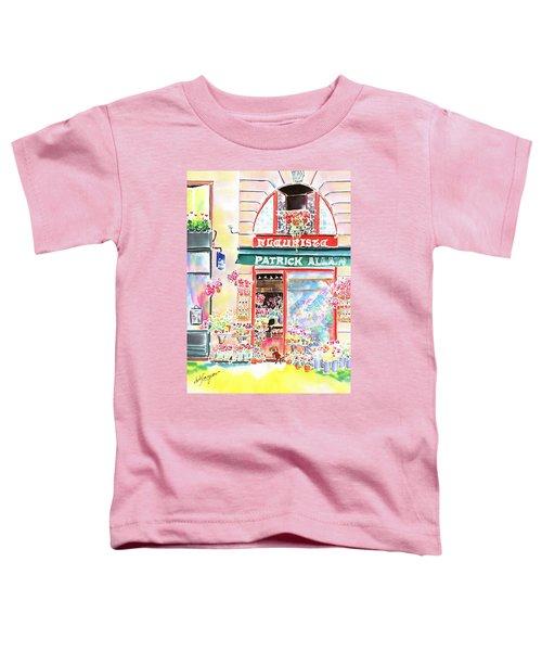 Florist In Ile St.louis Toddler T-Shirt