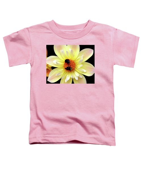 Flower And Bees Toddler T-Shirt