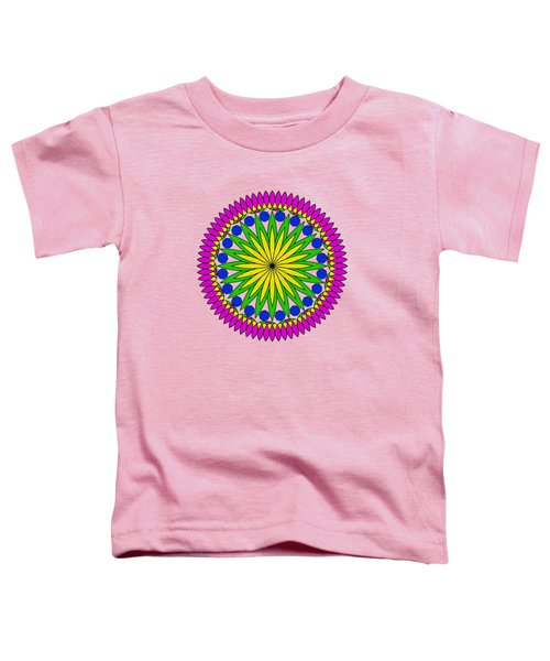 Flower Mandala By Kaye Menner Toddler T-Shirt