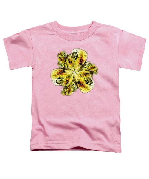 Flower Sketch Toddler T-Shirt