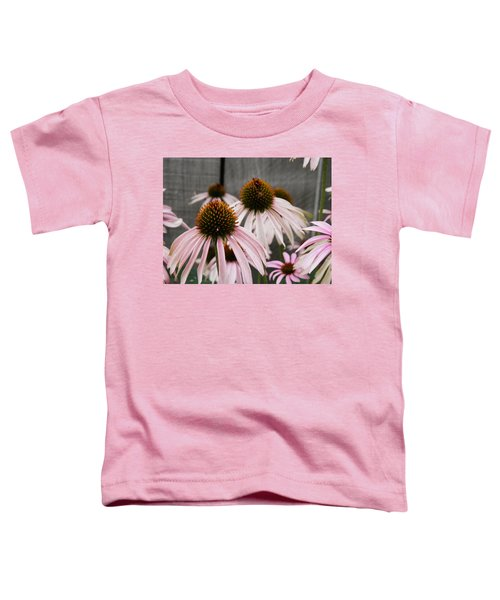 Flowers Along The Fence Toddler T-Shirt