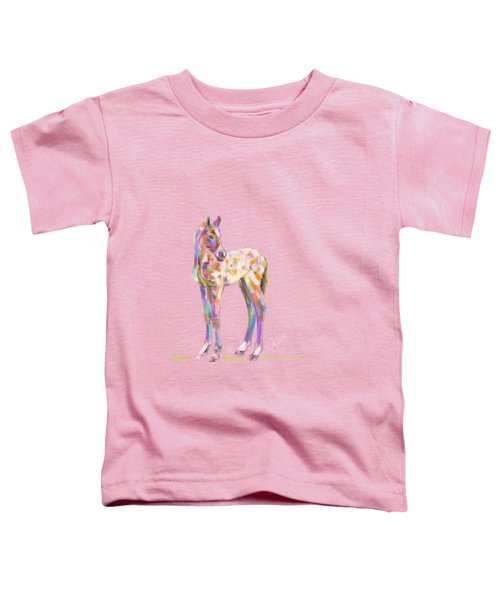 Foal Paint Toddler T-Shirt