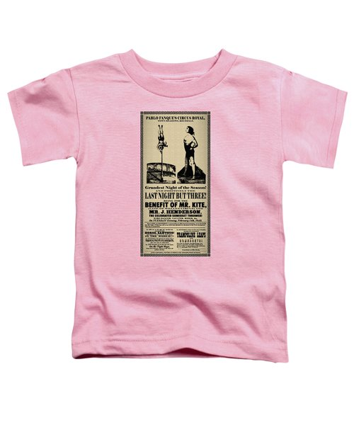 For The Benefit Of Mr Kite Toddler T-Shirt