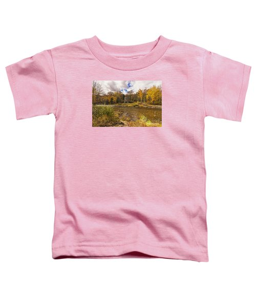 Toddler T-Shirt featuring the photograph Franconia Iron Works by Anthony Baatz