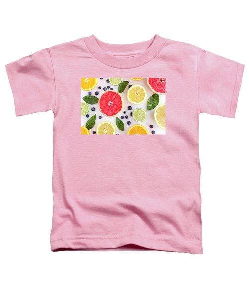 Fresh Citrus Fruits Toddler T-Shirt